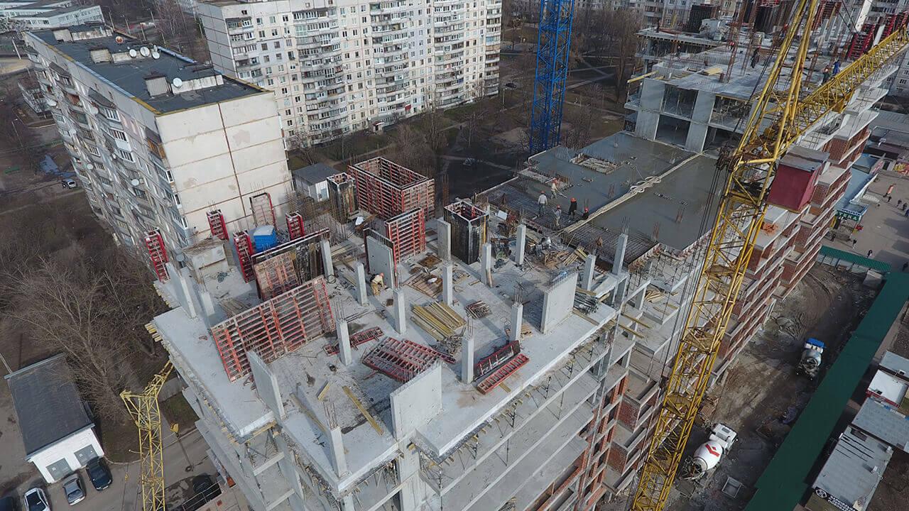 континенталь строительство харьков март 2020
