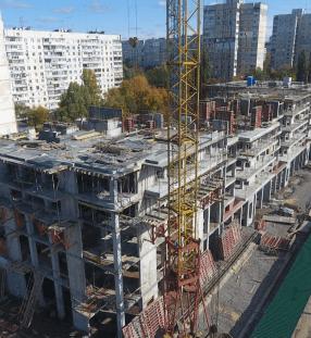 Жовтень 2019 будівництво