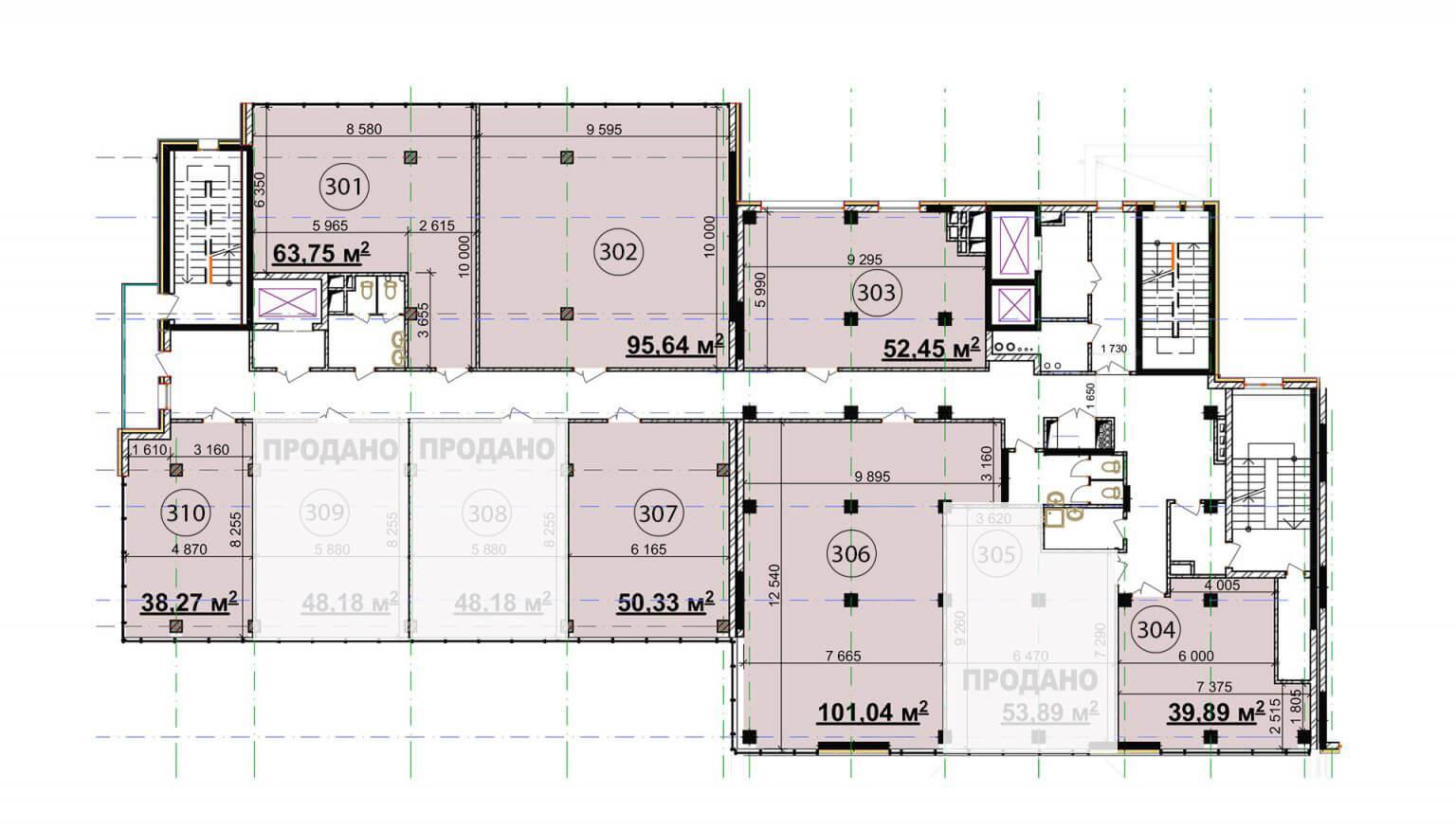 Бізнес центр (3 поверх)