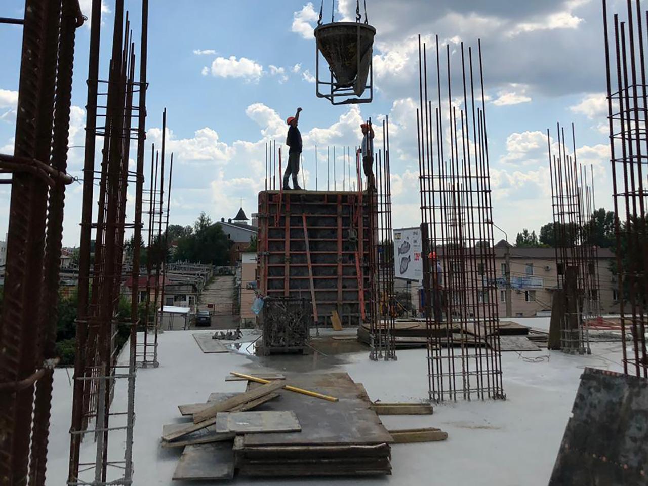 Что такое монолитно-каркасная технология строительства